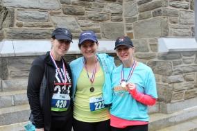FB Female Runner winners