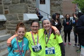 FB SLS Running Club Girl Winners