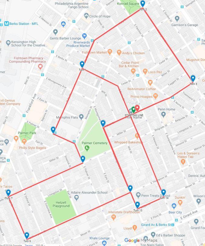 5K map 2019
